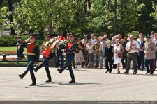 24 июня, в день 70-й годовщины Парада Победы, в Москве прошла торжественная церемония возложения цветов