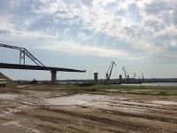 Строительство объездной вокруг Сарапула на автомобильный мост через Каму затягивается