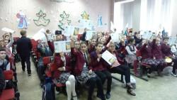 Школьники Сарапула напомнили своим сверстникам о правилах дорожного движения