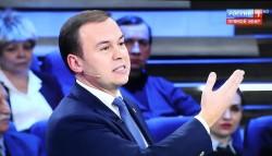 Юрий Афонин в эфире телеканала «Россия-1»: «Не перестав клеветать на сталинскую эпоху, мы не добьемся уважения на международной арене»