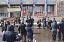 Митинг против антинародной политики власти