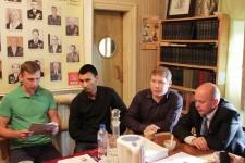 Дружеский визит Комсомольцев
