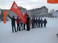 В Шаркане прошли спортивные соревнования под эгидой КПРФ