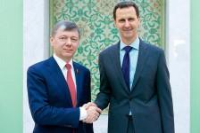 Д.Г. Новиков: Способствовать миру на сирийской земле