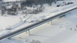 В Удмуртии выросли тарифы на проезд по Камскому мосту