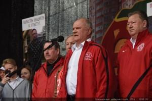Г.А. Зюганов: Финансово-экономический курс, проводимый правительством Путина, полностью обанкротился!