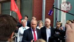 «Горбунова в отставку!» Заявление 45 передали в ЦИК и Мосгоризбирком